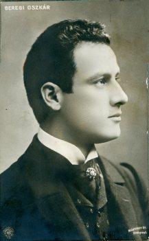 Mártony Gy. Budapest, portrét herca, Beregi Oszkár