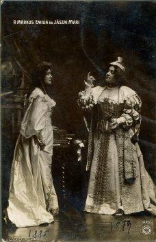 portrét herečiek, Emilia Márkus a Mari Jászai