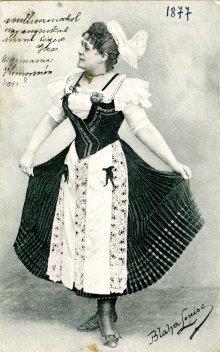 portrét herečky, Lujza Blaha