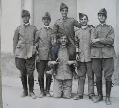 Ritratto degli Allievi Ufficiali con Uguccione Ranieri di Sorbello