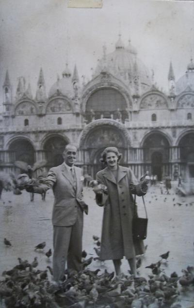Viaggio di nozze di Uguccione e Marilena