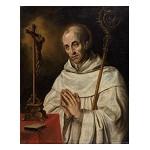 De heilige Bernardus van Clairvaux