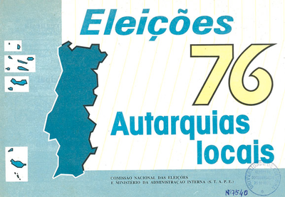 Eleições 76: autarquias locais