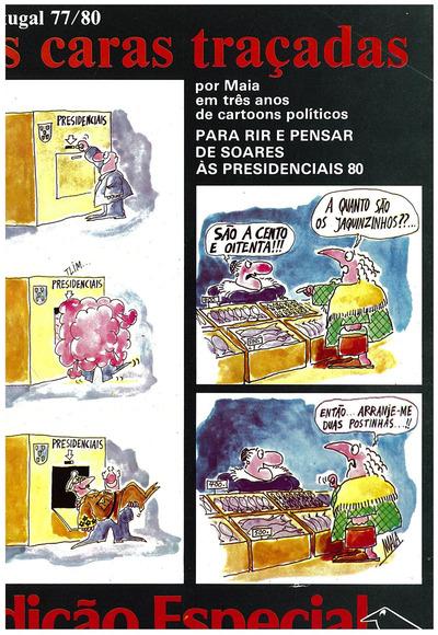 As caras traçadas por Maia em três anos de cartoons políticos: Portugal 77/80