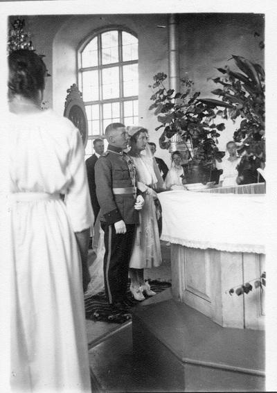 Alfred Brams bröllop i Vörå.