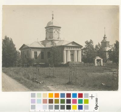 Oravais kyrka.