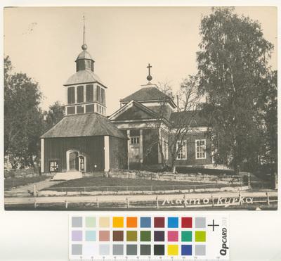 Maxmo kyrka.