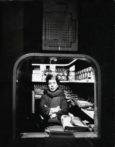 Teaterchefen och -regissören Vivica Bandler (1917-2004)  ...