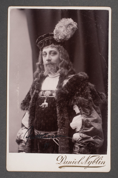 Axel Hansson (1869-1911), svensk skådespelare, i  ...