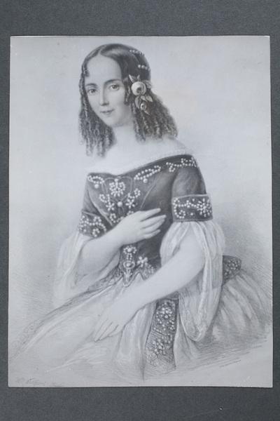Emilie Högqvist (1812-1846), svensk skådespelare, som  ...