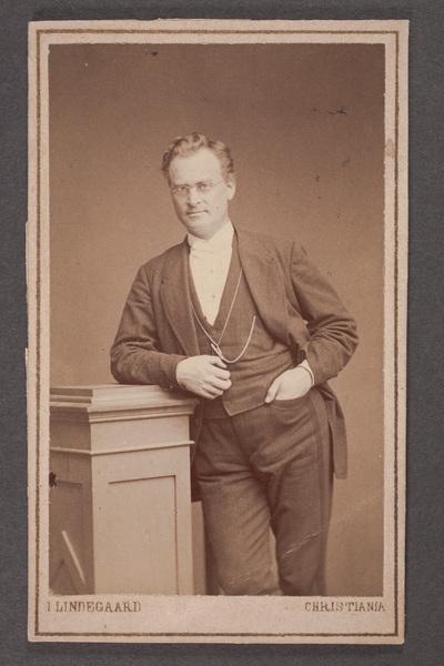 Andreas Isachsen (1829-1903) norsk skådespelare.