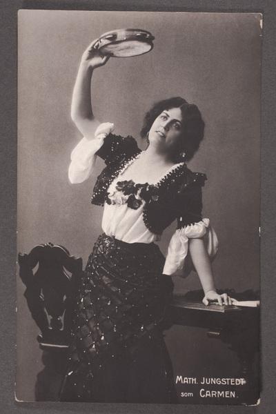 Matilda Jungstedt-Reuterswärd (1864-1923), svensk operasångare (mezzosopran),  ...