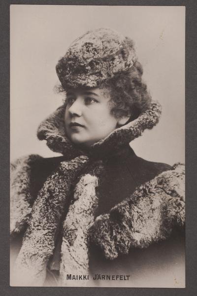 Maikki Järnefelt-Palmgren (1871-1929), finländsk sångerska, sopran.