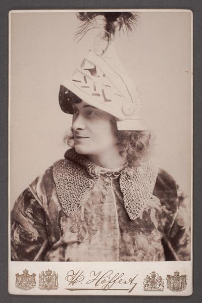 Josef Kainz (1858-1910), österrikisk-tysk skådespelare, i  ...