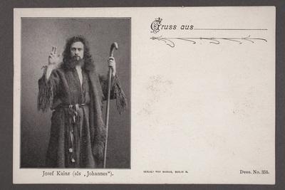 Josef Gottfried Ignaz Kainz (1858-1910), österrikisk-tysk  ...