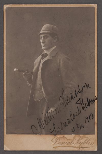 William Larsson (1873-1926), svensk skådespelare och  ...