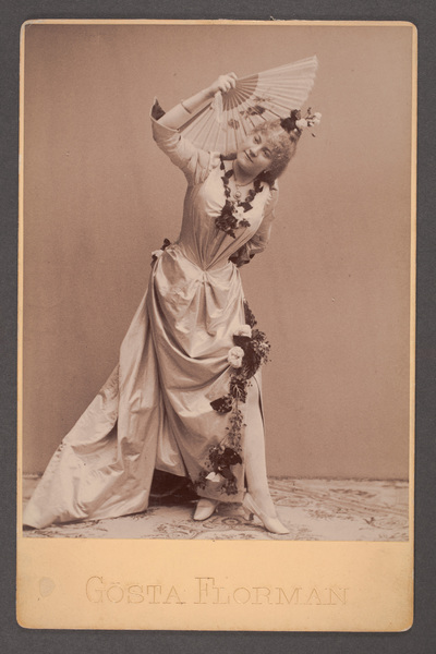 Anna Lindberg, skådespelare i titelrollen i  ...