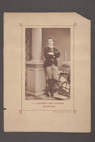 August Lindberg (1846-1916), svensk skådespelare, regissör  ...