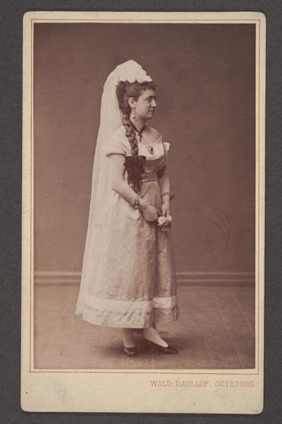 Blenda Lublin, svensk skådespelare, som maria  ...