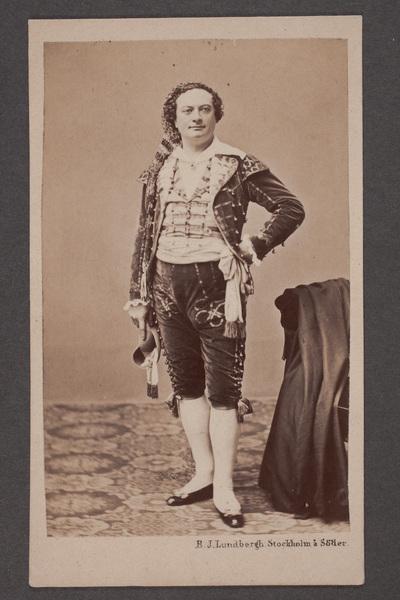 Bernhard Lundbergh (1823-1877), svensk operasångare (basbaryton)  ...