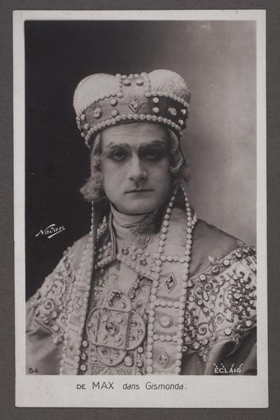 Édouard (Eduard) de Max (1869-1924), rumänsk-fransk  ...