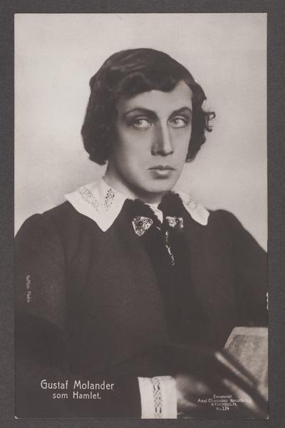 Gustaf Molander (1888-1973), svensk regissör, skådespelare,  ...