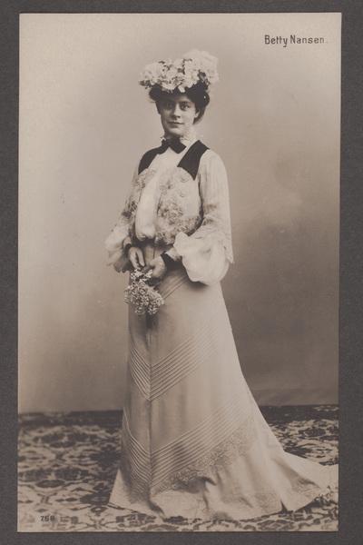 Betty Nansen, ursprungligen Anna Maria Müller  ...