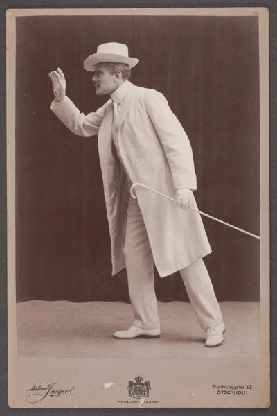 Albert Nycop (1877-1946), skådespelare och teaterchef,  ...
