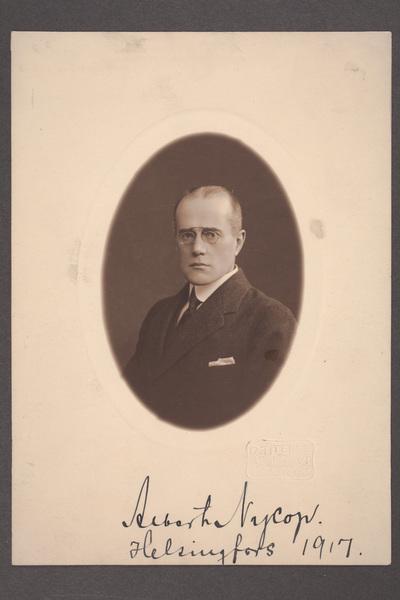Albert Nycop (1877-1946), skådespelare och teaterchef.