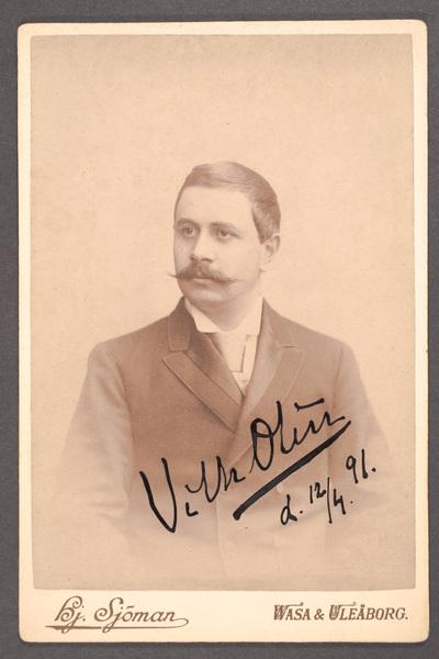 Vilhelm Olin (1862-1938), svensk skådespelare och teaterledare.