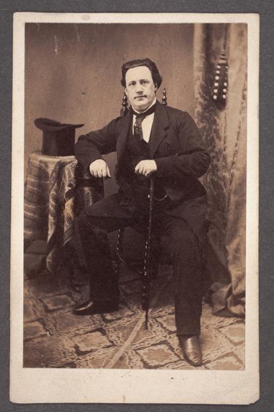 Mauritz Pousette (1824-1883), svensk skådespelare.