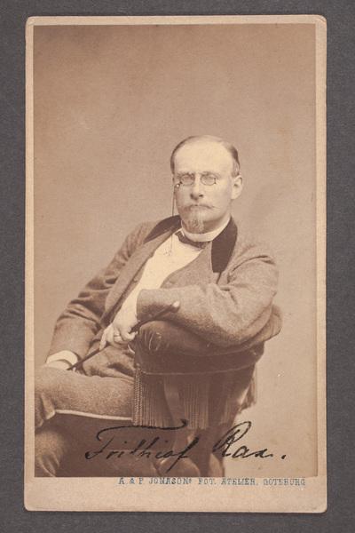 Frithiof Raa (1840-1872), svensk skådespelare, tecknare  ...