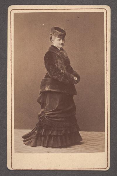 Anna Maria Strandberg (senare Strandberg-Bergman) (1852-1933),  ...