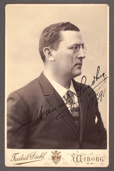 Mauritz Svedberg (1852-1913), skådespelare.