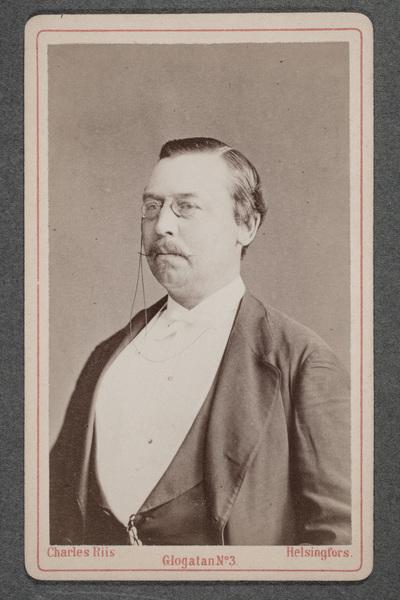 Albert Åhman (1832-1883), skådespelare och regissör.