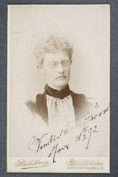 Vendla Forsström (1862-d).