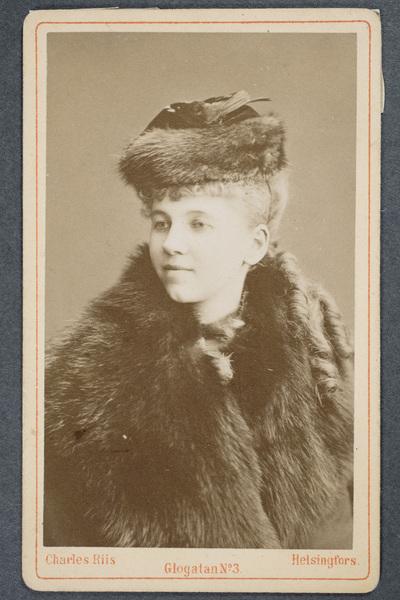 Alma Evelina Fohström-von Rode (1856-1936).