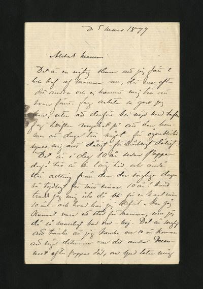 d 5 mars 1879