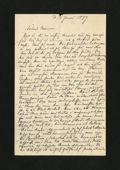 d. 3 Juni 1879