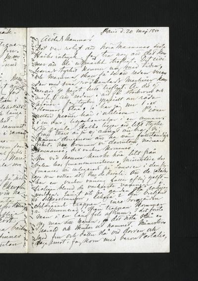 Paris d. 20 maj 1880
