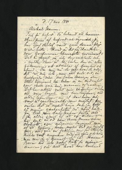 d. 17 nov 1880