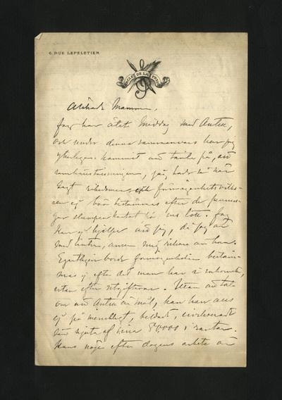 Odaterat [4 mars 1881]