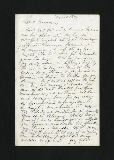 1 april 1881