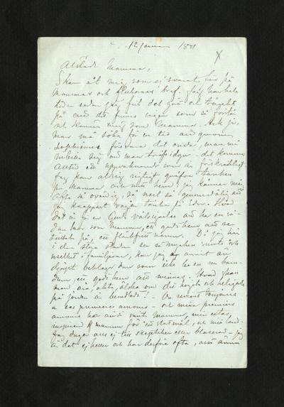 12 januari 1881.