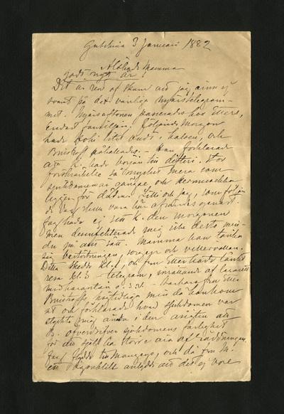 Gatschina 3 januari 1882