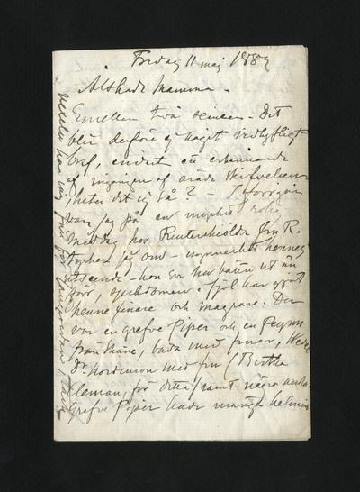 Fredag 11 maj 1882