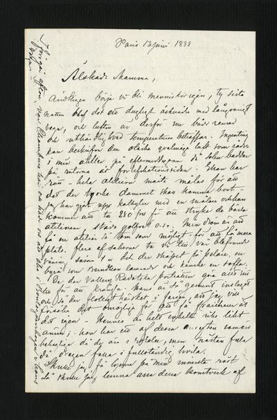Paris 13 juni 1888