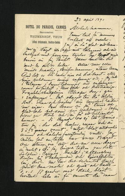 23 april 1891