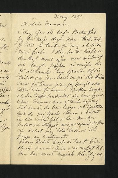 31 maj 1891