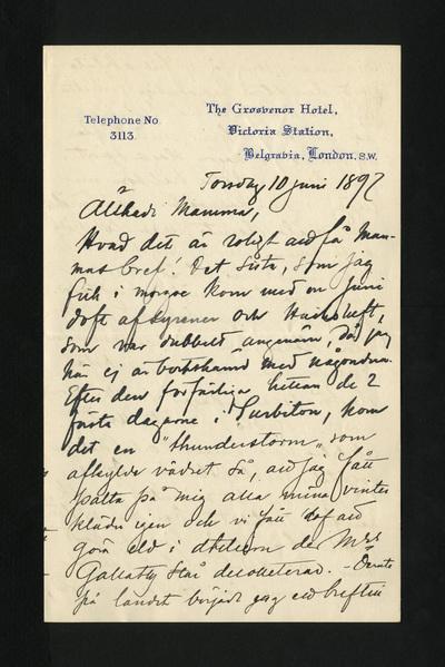 Torsdag 10 juni 1897